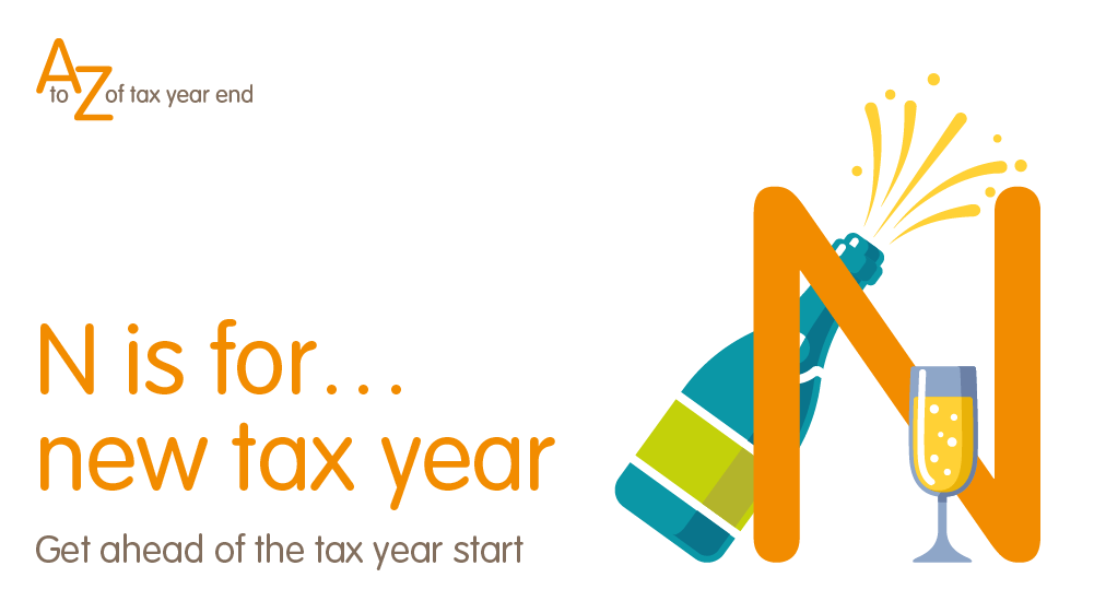 Tax planning for the new tax year